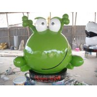 供应玻璃钢青蛙雕塑园林公园广场动物雕塑