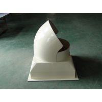 山东青岛玻璃钢风机壳厂家 玻璃钢拢风筒价格玻璃钢法兰制作