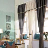 成都装修设计人和雅风装饰分享:怎样选择窗帘