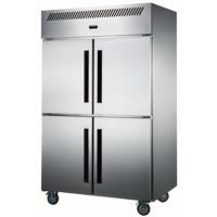 四门冷冻冰箱|四门冰箱风冷|厨房冷冻保鲜柜|厨房商用设备