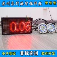 苏州永升源厂家定制170812-1SCX 电子看板4-20mA压力 0-10V负压 大气压显示屏称重