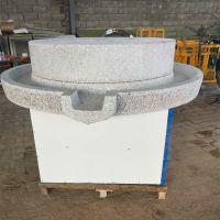 多功能豆浆石磨机 香油米浆电动石磨 砂岩原石磨浆机