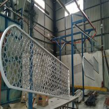 河南体育馆走廊吊顶拉伸网生产商*欧百得13422371639李经理