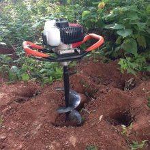 手推轻便打眼机 植树用挖坑机 高速汽油挖坑机批量供应