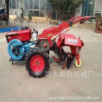 梯田丘陵打地翻田机两轮驾驶式旋耕机 柴油手扶拖拉机