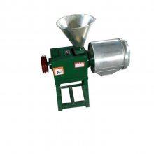 信达直销食品加工设备 锥形家用磨面机 三相电微型面粉机 荞麦脱皮磨面机