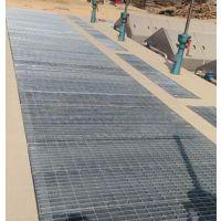 污水处理用热镀锌钢格板/平台过道钢格板- 河北泰江