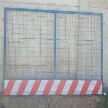 现货基坑栅栏,临时护栏网厂家,黄黑基坑护栏