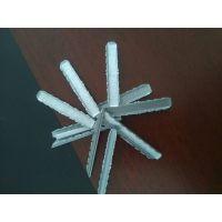 中空玻璃间隔条用钢插件 6H6.5塑料直插件