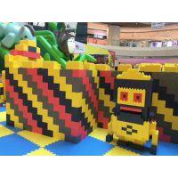 商场大型儿童积 木乐园城堡 巨型积木王国 室内游乐设备epp积木