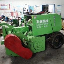 玉米秸秆青贮打捆机服务周到 黑龙江圣泰粉碎打捆机价格