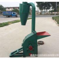 福州大型饲料加工机 树叶秸秆自动进料粉碎机报价