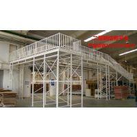 可调多结构货架组合 长春钢结构平台图片