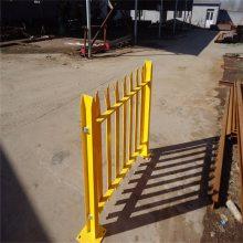 围墙栏杆隔离栏 锌钢外墙护栏 铁艺护栏围墙
