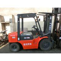 3吨二手合力叉车、合力 杭州 多种型号3t内燃叉车销售