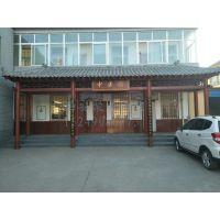 西安中式仿古门头-店面中式门头-老式门头装饰定做