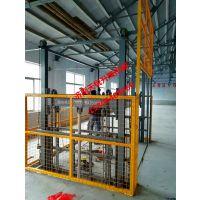 佳木斯车间导轨货梯、电动液压升降平台天锐制造