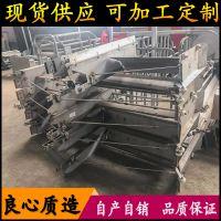 全自动化刮粪机 猪场清理粪便设备 304不锈钢刮粪机一拖二厂家