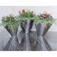 供应不锈钢花盆(SZHP-116)