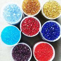 灵寿兴胜供应全型号喷砂除锈用玻璃砂 彩色玻璃砂 工艺品用彩色玻璃珠