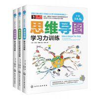 思维导图全彩少儿版学习力与记忆力与专注力训练全三册逻辑训练书