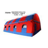 大型防雨一居室多色充气帐篷婚宴流动餐厅喜棚野营酒席篷房,气柱(高强涤纶丝夹网布)