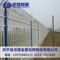 栏杆围墙网 铁艺围栏网 锌钢围墙护栏