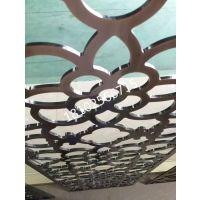 供应贵州省毕节市镔纳铝镂空镀钛屏风