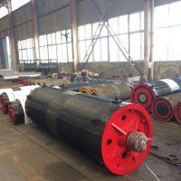 亚重牌φ300*1000型卷筒组 钢板卷制材质 卷钢丝绳用卷筒组