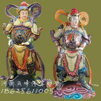 河南云峰佛像雕塑厂订做天王殿佛像 弥勒佛 韦陀菩萨