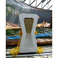 天津年会服务大会启动仪式1米水晶启动球、沙漏、水晶魔方、画轴推杆、多米诺骨牌推杆启动道具出租