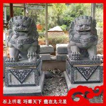 四川汉白玉石狮子 石雕北京狮 惠安石雕狮子