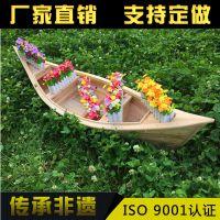 湖北木船厂直销景观装饰船 仿古中式木船 服务类船出售