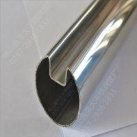 上海不锈钢凹槽管 304不锈钢凹槽管 不锈钢管厂现货直供