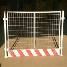 基坑安全护栏 临时基坑护栏 隔离栏杆