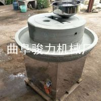 优质供应 家用型米浆肠粉电动石磨机 泉州 多功能石磨豆浆机 麻汁磨 骏力