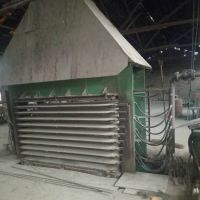 三明三维产8成新3*6尺300吨十层横向热压机