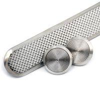 耀恒 精品304不锈钢盲道条 行进钉 机场地铁导盲条 防滑导盲钉 380