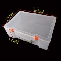 透明大号塑料工具盒积木培训教具箱玩具模型收纳盒加高乐高零件盒