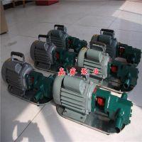 厂家直销WCB50手提式齿轮泵 自吸便捷式油料输送泵