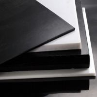 供应东莞黑色合成石材料 耐高温350度机器隔热板 硫化机注塑机隔热板加工厂