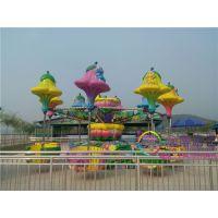 金博新型主题乐园游乐设施8臂旋转飞椅桑巴气球