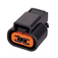 供应汽车连接器护套端子插件DJ7021B-2.3-21国产2芯连接器现货