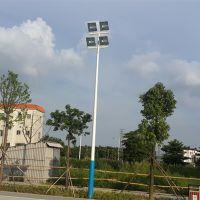 雅浩照明篮球场灯架安装 三乡镇生产灯杆预埋件厂家 球场场地画线