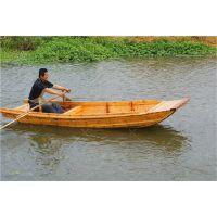 厂家直销电动木船 旅游观光船 钓鱼船 乌篷船 中式仿古木船 服务类船出售