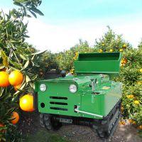 果园旋耕开沟回填机 启航牌自走式履带回填机 多效耕地施肥机