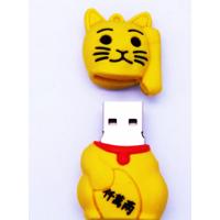 招财猫U盘卡通旺旺猫U盘节日庆典纪念礼品U盘