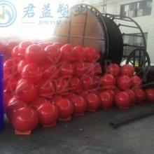 水源保护区域隔离浮桶 直径1000浮体 昆明河道塑料浮球