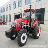 1304国补精品四驱农用四轮拖拉机 大型拖拉机 拖拉机带柴胡收获机
