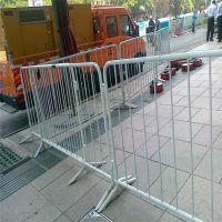 公路施工铁马护栏 停车场隔离栏 直销钢管铁马围栏